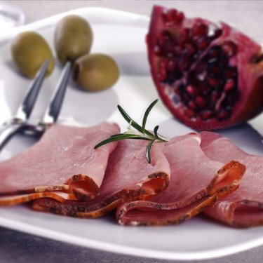Long-ripening pork ham