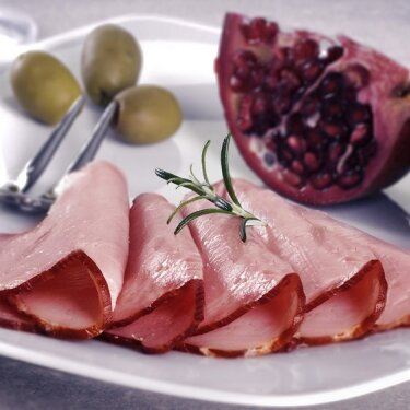 Traditional country ham